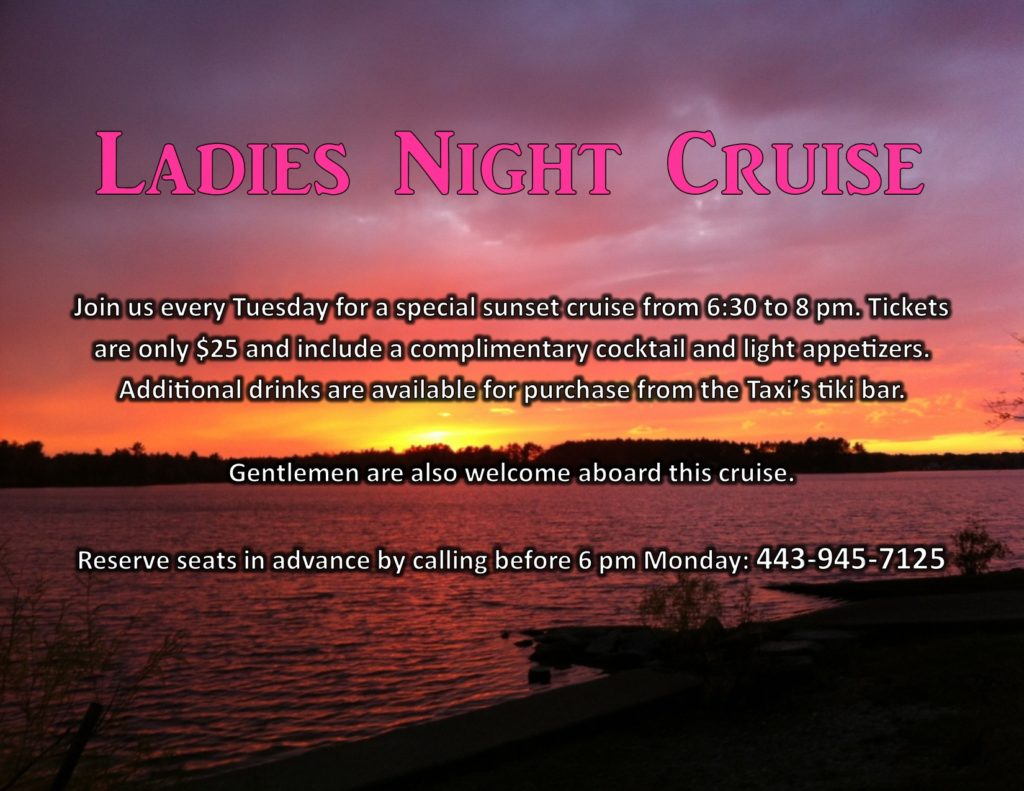 Ladies Night Water Taxi